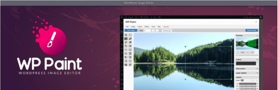 WP Paint - WordPress Image Editor