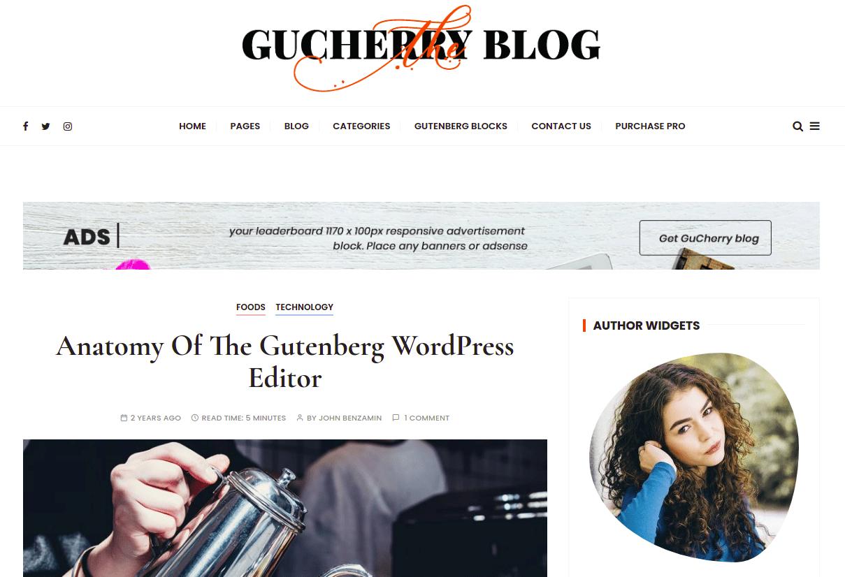 GuCherry Blog