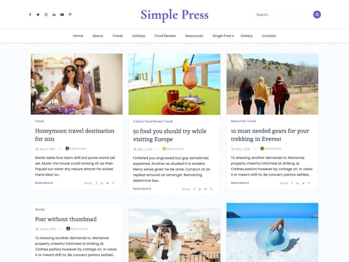 Simple Press