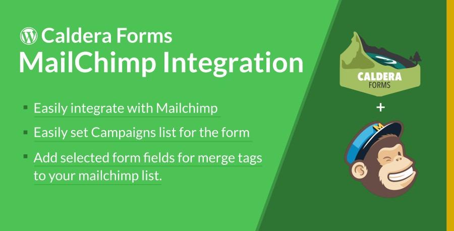 Caldera Forms MailChimp Integration