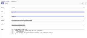 Odoo Custom CSS and JS