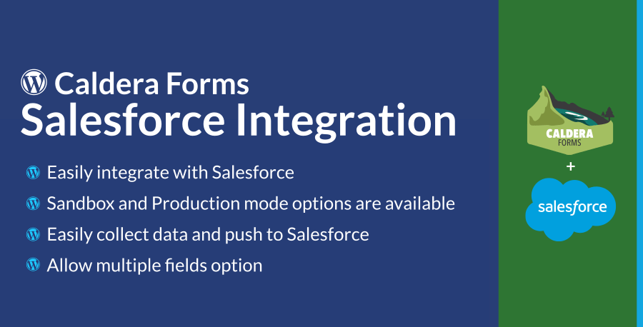 Caldera Forms Salesforce Integration